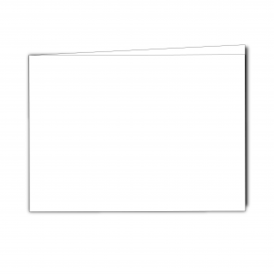 A5 Landscape White Plain Card Blanks