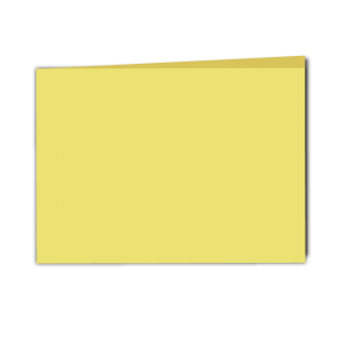 Giallo Woodstock Card Blanks Double sided 285gsm-A5-Landscape