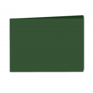 A5 Landscape Dark Green Card Blanks
