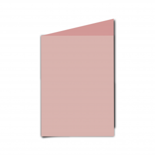 A6 Baby Pink Card Blanks