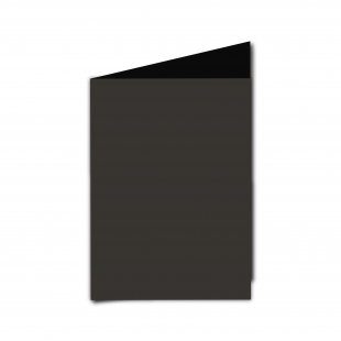 A6 Portrait Black Card Blanks