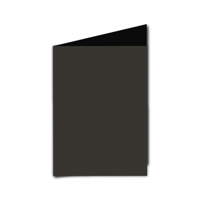 A6  Card  Blank  Black  Smooth