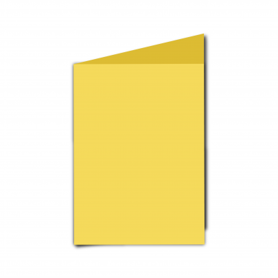 A6  Card  Blank  Daffodil  Yellow