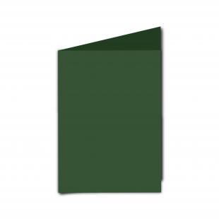 A6 Dark Green Card Blanks