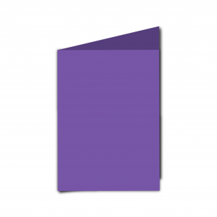 A6 Portrait Dark Violet Card Blanks