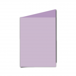 A6 Portrait Lilac Card Blanks