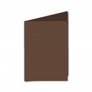 A6 Mocha Brown Card Blanks