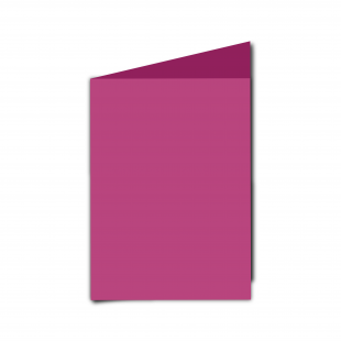 A6 Portrait Raspberry Pink Card Blanks