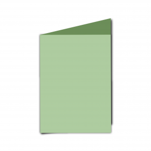 A6 Spring Green Card Blanks