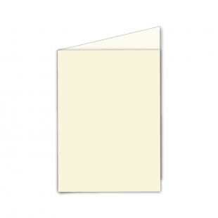 A6 Portrait Ivory Card Blanks