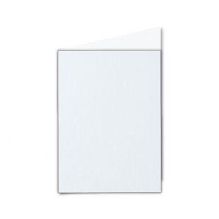 A6 Ultra White Pearlised Card Blanks