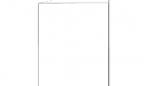 A6 Portrait White Hammered Card Blank