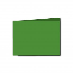 A6 Landscape Apple Green Card Blanks