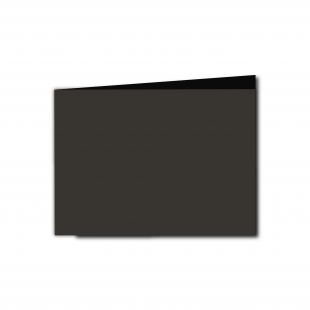 A6 Landscape Black Card Blanks