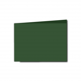 A6 Landscape Dark Green Card Blanks