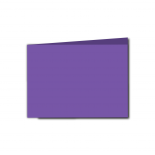 A6 Landscape Dark Violet Card Blanks