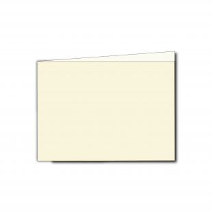 A6 Landscape Ivory Pearlised Card Blanks