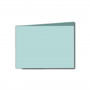 A6 Landscape Pale Turquoise Card Blanks