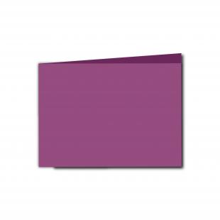 A6 Landscape Purple Grape Card Blanks