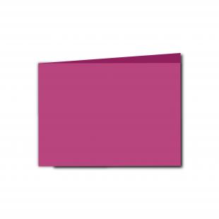 A6 Landscape Raspberry Pink Card Blanks