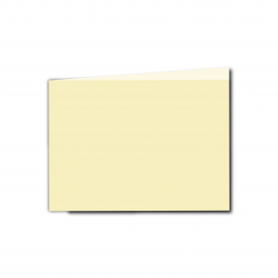 A6 Landscape Rich Cream Linen Card Blanks