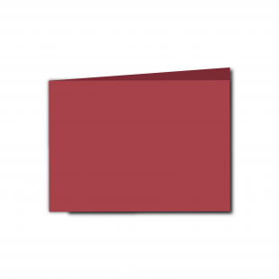 A6 Landscape Ruby Red Card Blanks