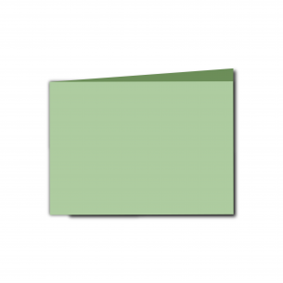A6 Landscape Spring Green Card Blanks