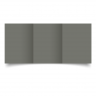 A6 Trifold Antracite Sirio Colour Card Blanks