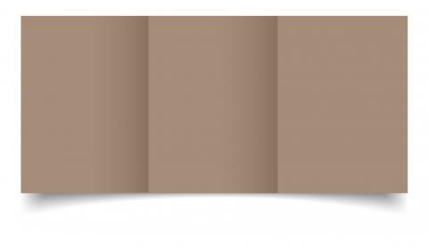 A6 Trifold Cashmere Sirio Colour Card Blanks
