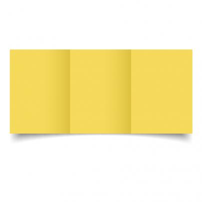 A6 Trifold Daffodil Yellow 01