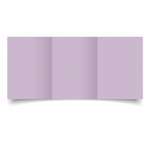 A6 Trifold Lilac Card Blanks