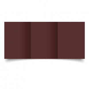 A6 Trifold Maroon Card Blanks
