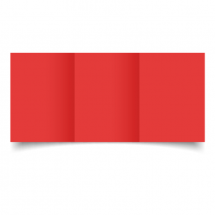 A6 Trifold Post Box Red Card Blanks