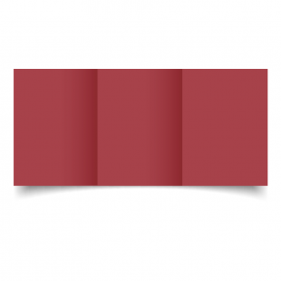 A6 Trifold Ruby Red Card Blanks