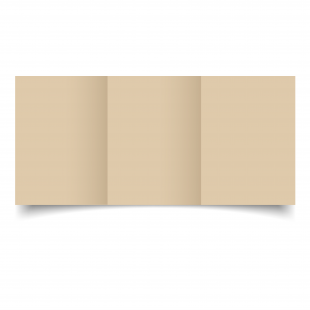 A6 Trifold Sabbia Sirio Colour Card Blanks