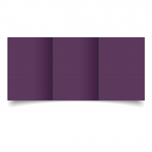A6 Trifold Vino Sirio Colour Card Blanks