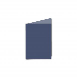 A7 Portrait Blu Sirio Colour Card Blanks