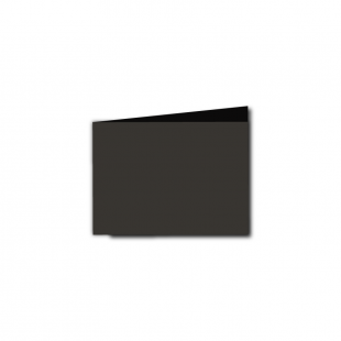 A7 Landscape Black Card Blanks