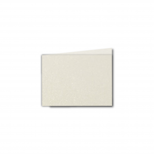 A7 Landscape Ivory Pearlised Card Blanks