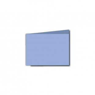 A7 Landscape Marine Blue Card Blanks