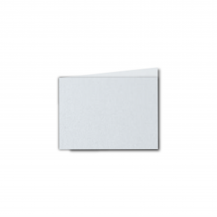 A7 Landscape Ultra White Pearlised Card Blanks