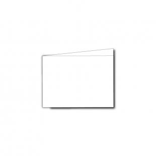 A7 Landscape White Plain Card Blanks