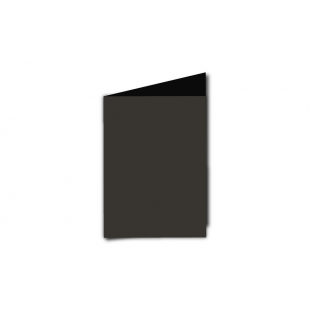 A7 Portrait Black Card Blanks