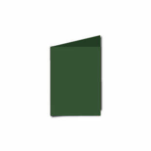 A7 Portrait Dark Green Card Blanks