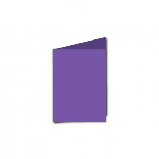 A7 Portrait Dark Violet Card Blanks