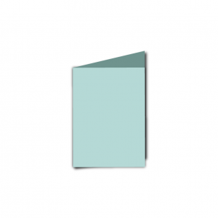 A7 Portrait Pale Turquoise Card Blanks