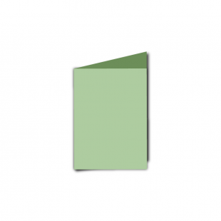 A7 Portrait Spring Green Card Blanks