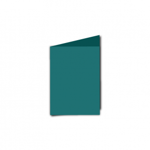 A7 Portrait Teal Card Blanks