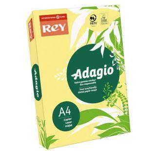 A4 (210x297mm) Rey Adagio Banana Yellow 80gsm | 500 Sheets