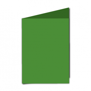 "5"" x 7"" Apple Green Card Blanks"
